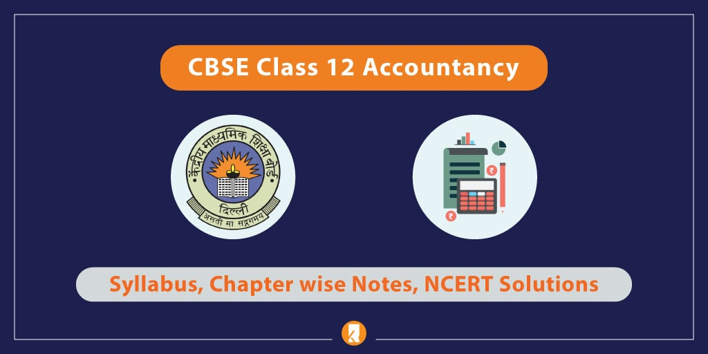 CBSE Class 12 Accountancy