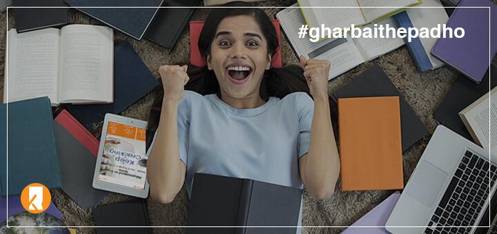 Kopykitab's Ghar Baithe Padho Campaign For School Level Exams