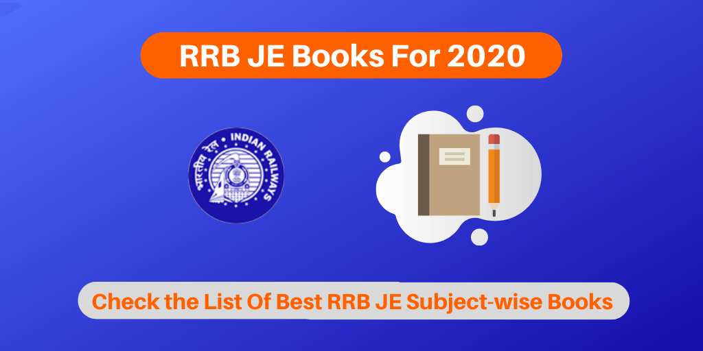 RRB JE Books For 2020