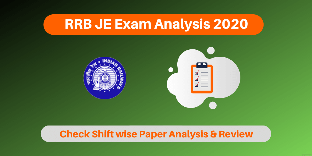 RRB JE Exam Analysis 2020