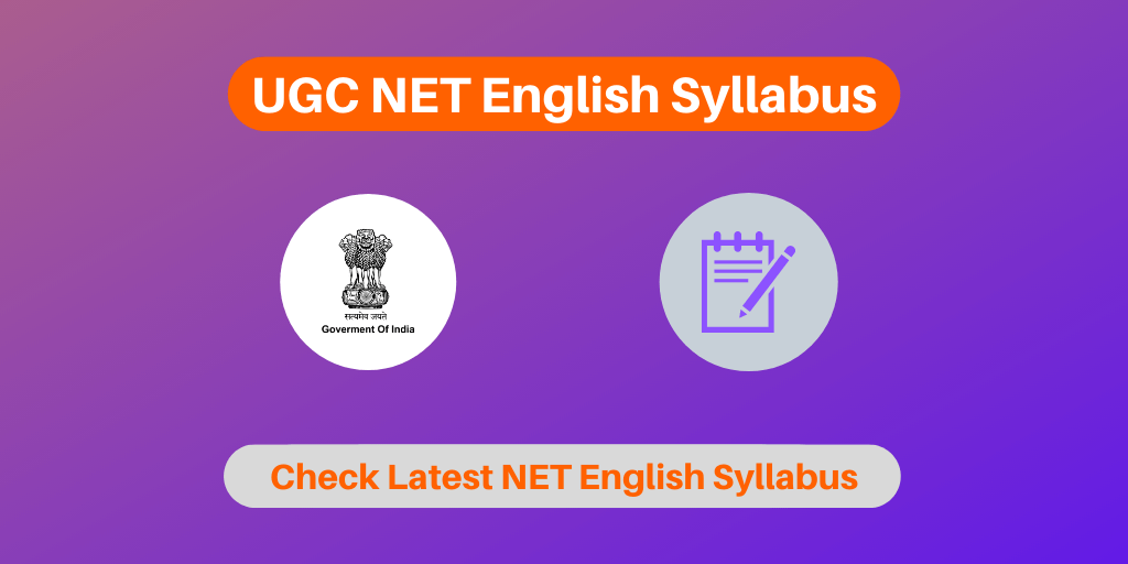 UGC NET English Syllabus