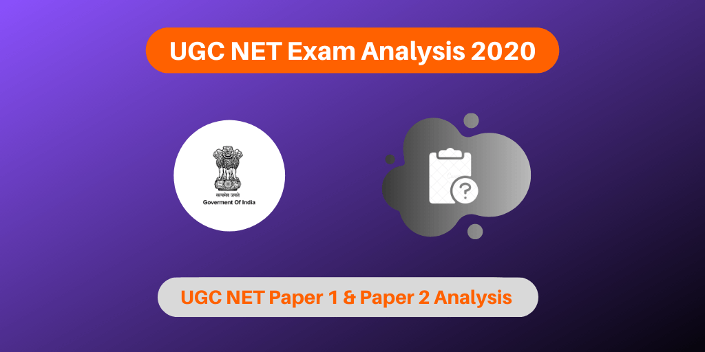 UGC NET Exam Analysis 2020