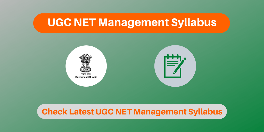 UGC NET Management Syllabus