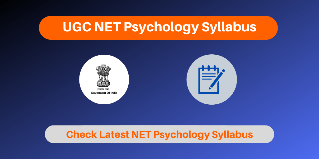 UGC NET Psychology Syllabus