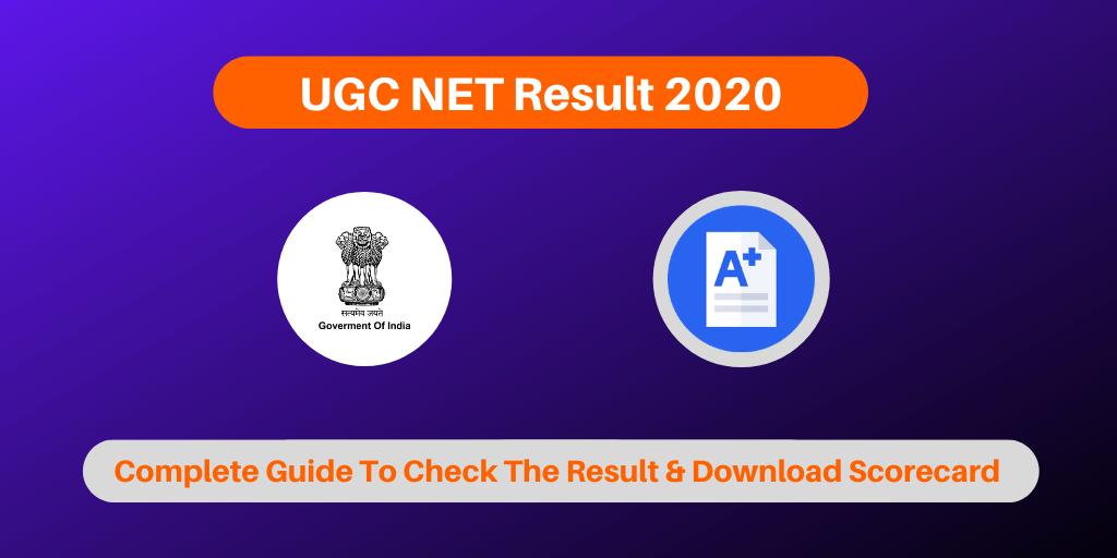 UGC NET Result 2020