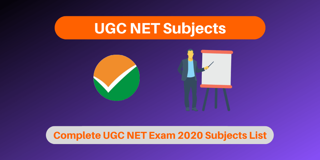 UGC NET Subjects