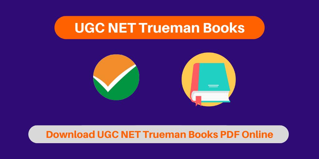 UGC NET Trueman Books