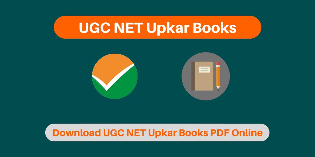 UGC NET Upkar Books
