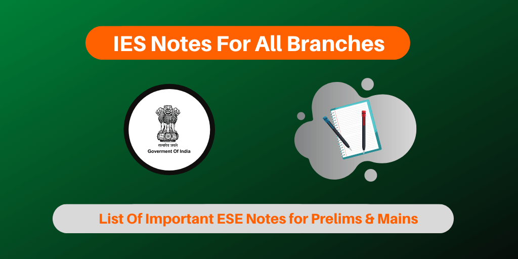 IES Notes For All Branches