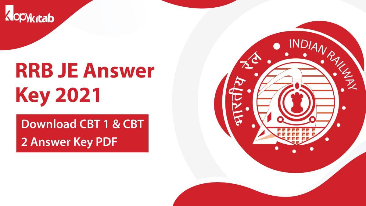 RRB JE Answer Key