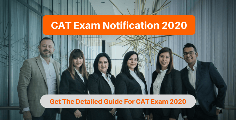 CAT Exam Notification 2020
