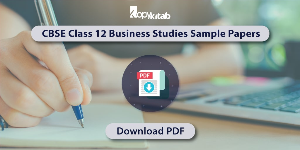 CBSE Class 12 Business Studies Sample Papers