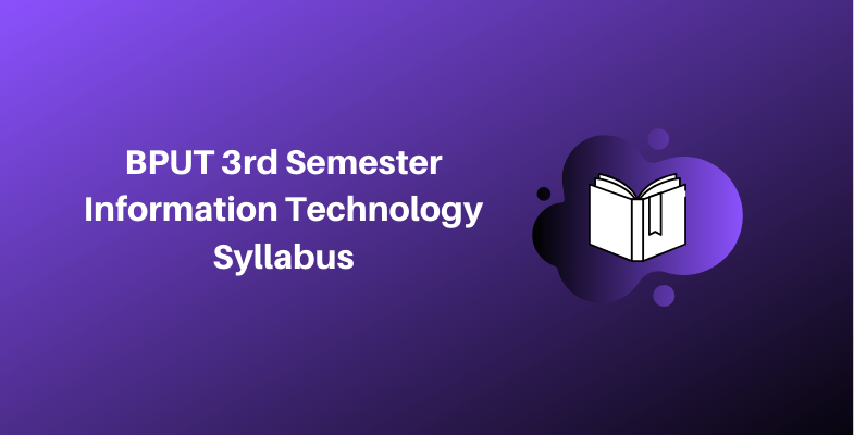 BPUT 3rd Semester Information Technology Syllabus