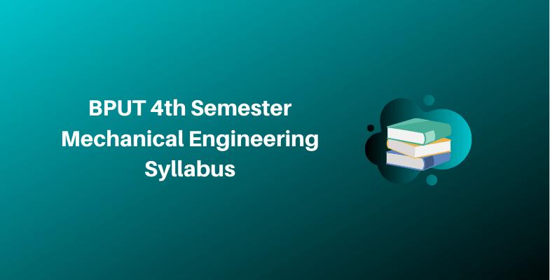 BPUT 4th Semester Mechanical Engineering Syllabus