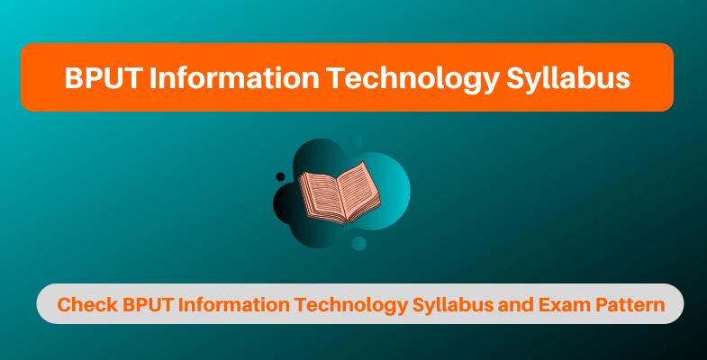 BPUT Information Technology Syllabus