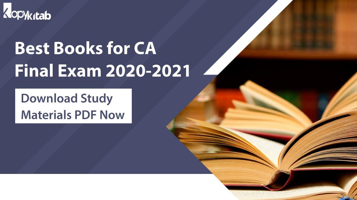 Best Books for CA Final Exam