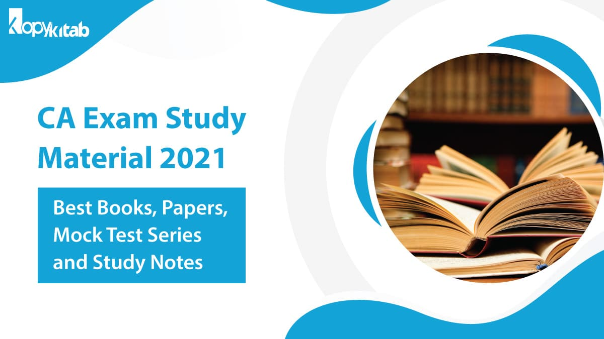 CA Exam Study Material