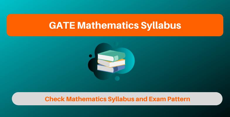 GATE Mathematics Syllabus