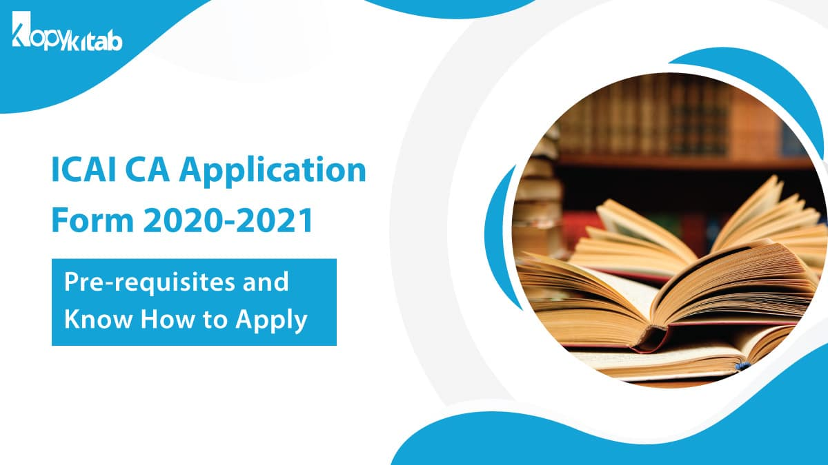 ICAI CA Application Form