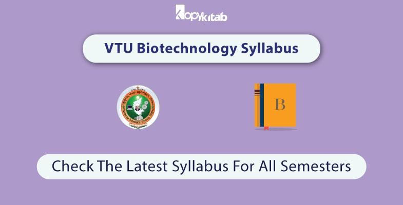 VTU-Biotechnology-Syllabus