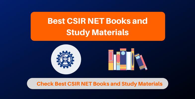Best CSIR NET Books and Study Materials