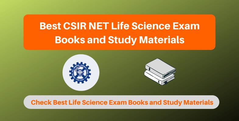 Best CSIR NET Life Science Exam Books and Study Materials