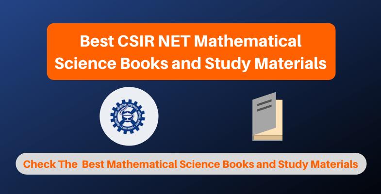 Best CSIR NET Mathematical Science Books and Study Materials