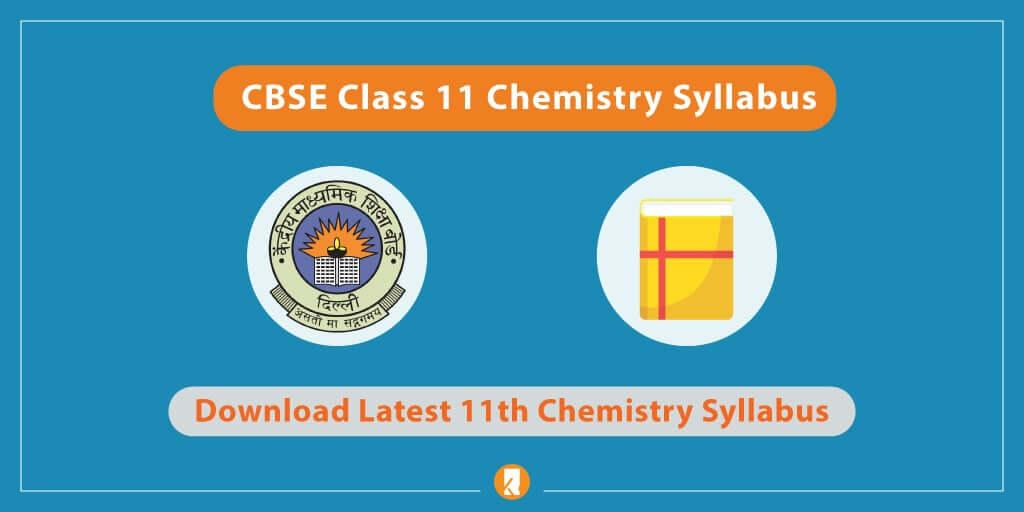 CBSE-Class-11-Chemistry-Syllabus
