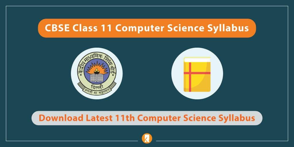 CBSE-Class-11-Computer-Science-Syllabus