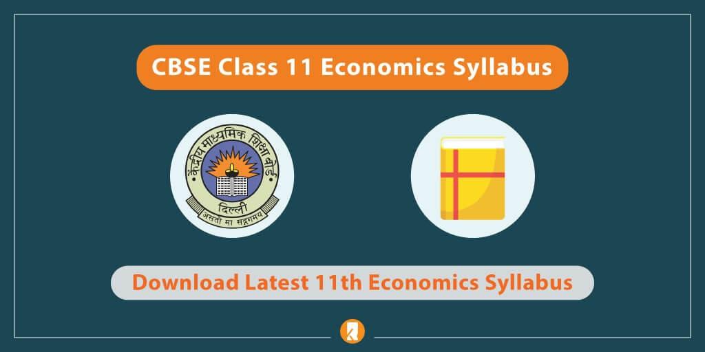 CBSE-Class-11-Economics-Syllabus