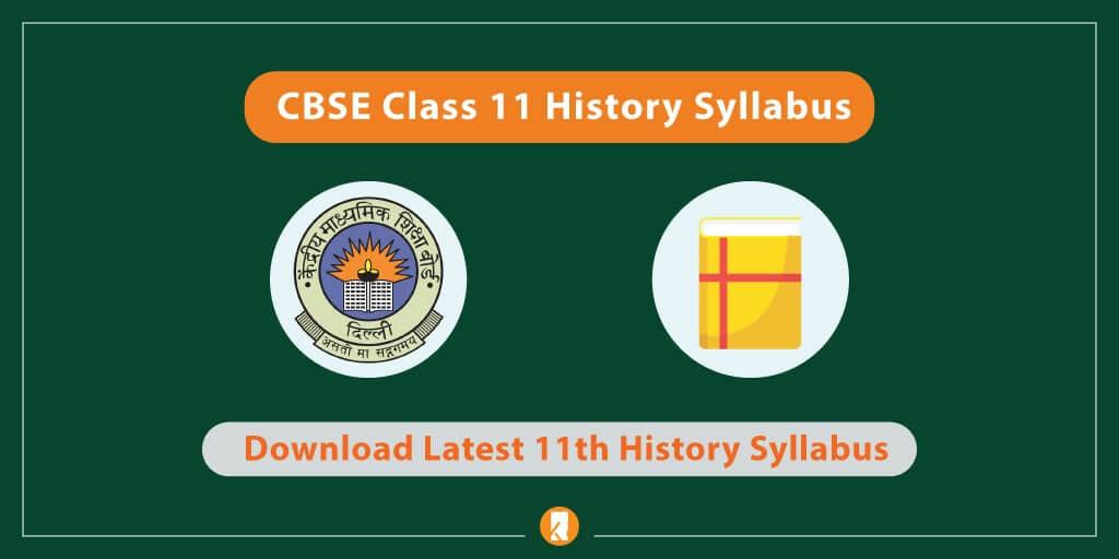 CBSE-Class-11-History-Syllabus