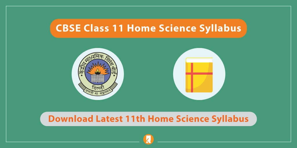 CBSE-Class-11-Home-Science-Syllabus
