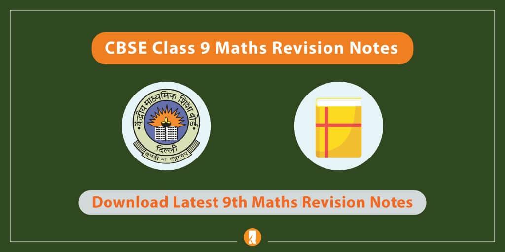 CBSE-Class-9-Maths-Revision-Notes