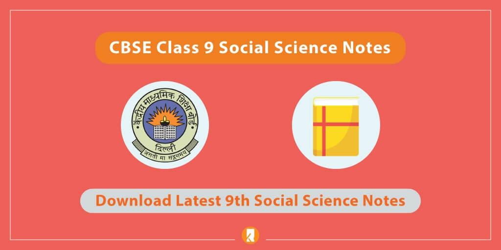 CBSE-Class-9-Social-Science-Notes