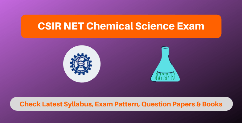 CSIR NET Chemical Science Exam