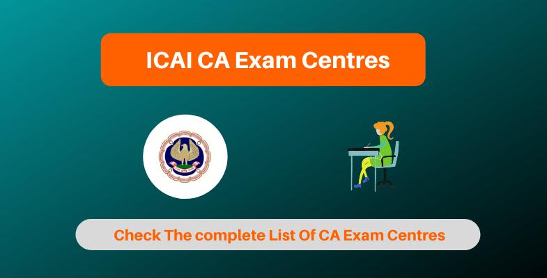 ICAI CA Exam Centres