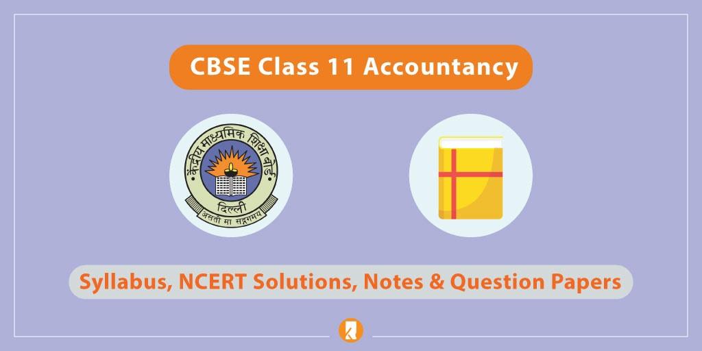 CBSE-Class-11-Accountancy