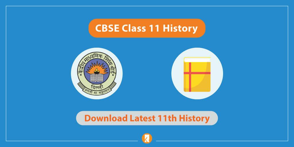 CBSE Class 11 History