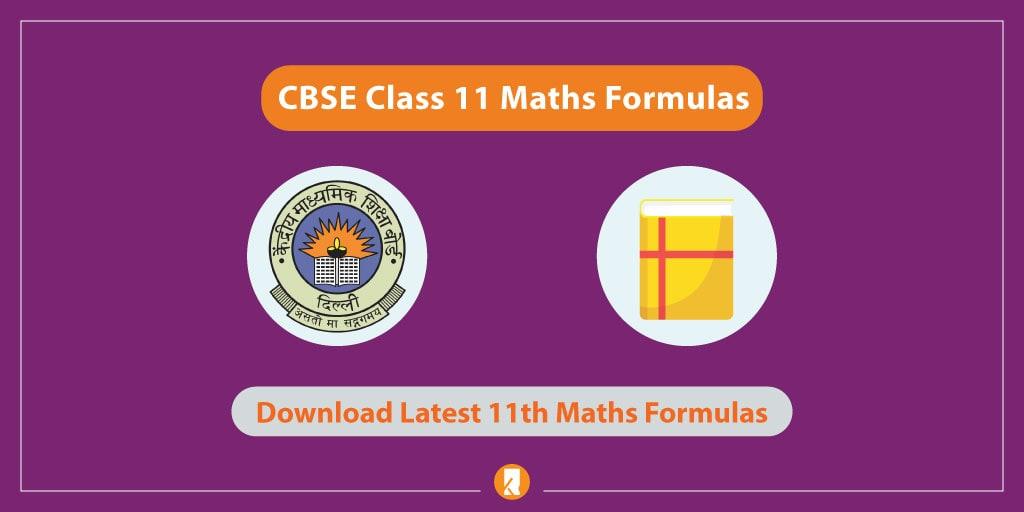 CBSE-Class-11-Maths-Formulas