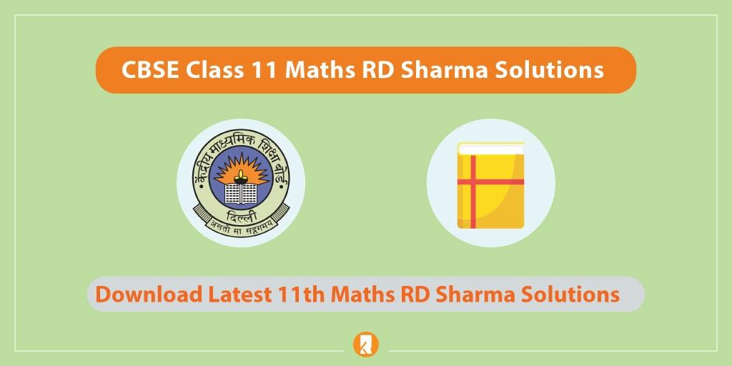 CBSE Class 11 Maths RD Sharma Solutions