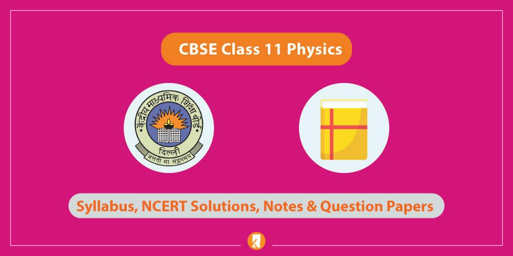 CBSE-Class-11-Physics