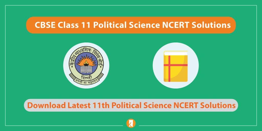 CBSE-Class-11-Political-Science-NCERT-Solutions