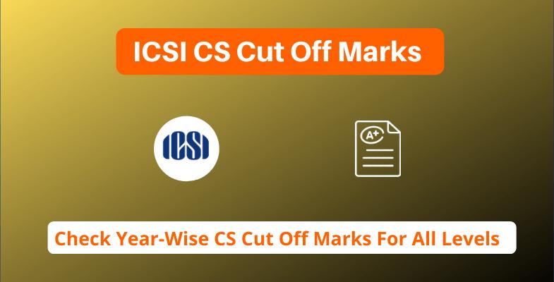 ICSI CS Cut Off Marks