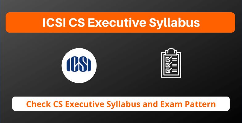 ICSI CS Executive Syllabus