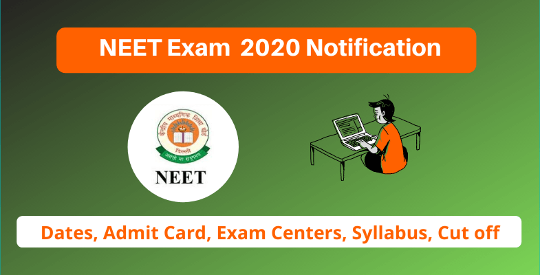 NEET Exam 2020 Notification