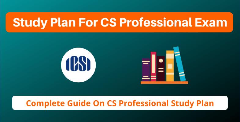 Study Plan For CS Professional Exam