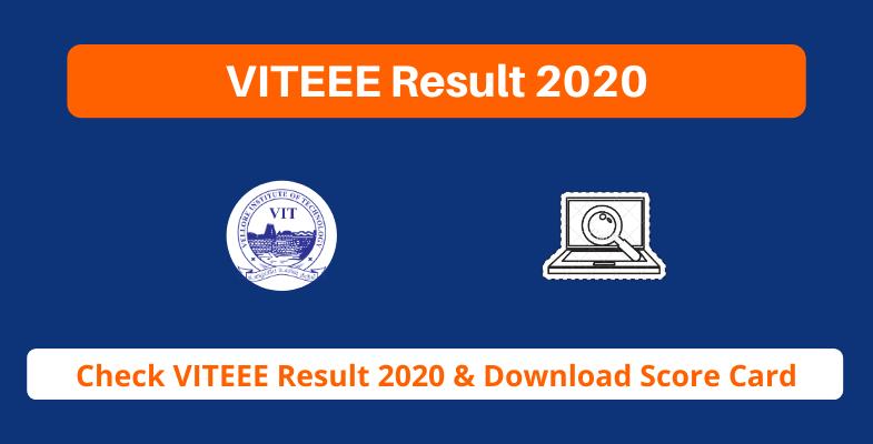 VITEEE Result 2020