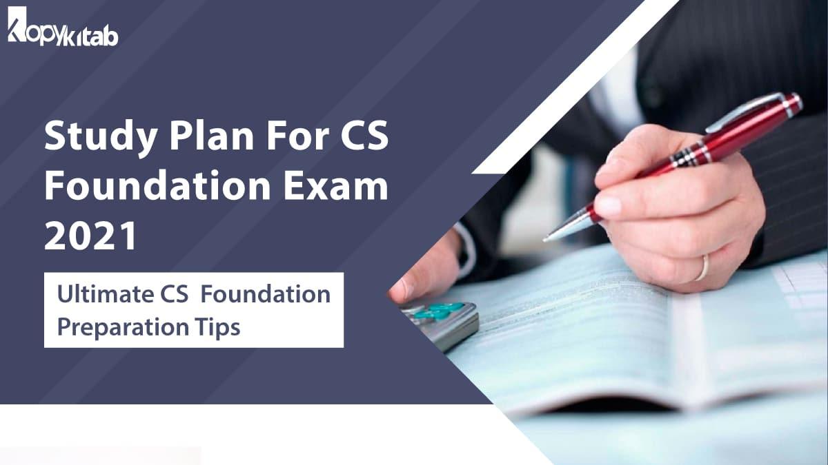 Study Plan For CS Foundation Exam