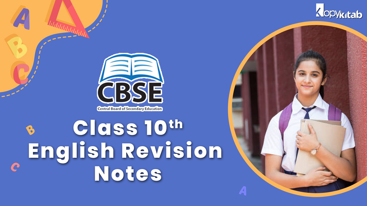 CBSE Class 10 English Revision Notes