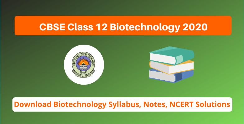 CBSE Class 12 Biotechnology 2020 (1)